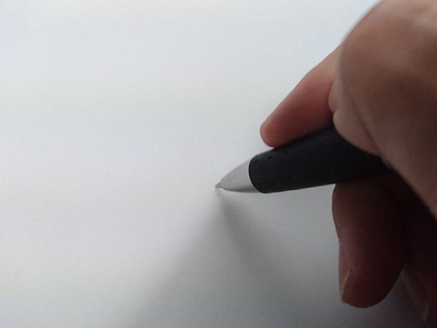 紙に書くところ